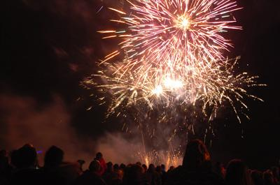 Fireworks – Saturday, 2nd November '13